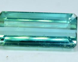 12.69 Carat Green Color Certified Natural Tourmaline Gemstone