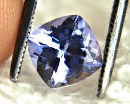 1.55 Carat African Purple Blue VVS Tanzanite - Gorgeous