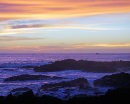 Hawaiian sunsets are gorgeous during hurricane season.
