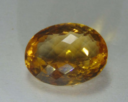 15.50 CTS FLAWLESS SPARKLING NATURAL  CITRINE