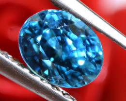 1.24 CTS NATURAL BLUE ZIRCON FACETED PG-2932