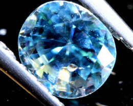 1.28 CTS NATURAL BLUE ZIRCON FACETED PG-2935