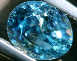 1.19 CTS NATURAL BLUE ZIRCON FACETED PG-2939