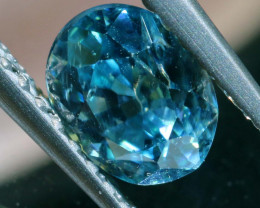 1.09 CTS NATURAL BLUE ZIRCON FACETED PG-2940