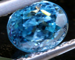 1.43 CTS NATURAL BLUE ZIRCON FACETED PG-2941