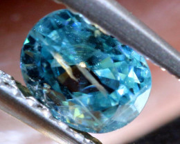 1.02 CTS NATURAL BLUE ZIRCON FACETED PG-2947