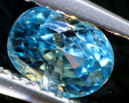 1.26 CTS NATURAL BLUE ZIRCON FACETED PG-2951
