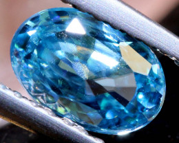 1.46 CTS NATURAL BLUE ZIRCON FACETED PG-2954
