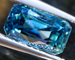 3.03 CTS NATURAL BLUE ZIRCON FACETED PG-2957