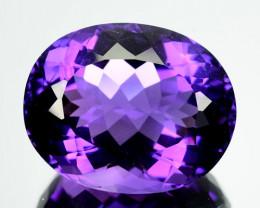 24.12 Cts Natural Purple Amethyst Bolivia