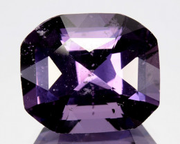 10.38 Cts Natural Purplish Blue Spinel Round Srilanka