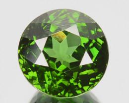 5.30 Cts Natural Sparkling Green Zircon Round Cut Srilanka