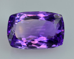 10.33 CT NATURAL AMETHYST TOP CLASS CUT GEMSTONE A2