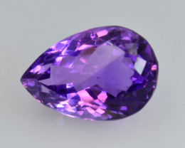 13.53 CT NATURAL AMETHYST TOP CLASS CUT GEMSTONE A7