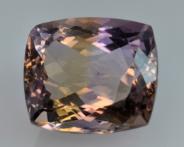 13.14 CT BOLIVIAN AMETRINE TOP CLASS LUSTER GEMSTONE AT2