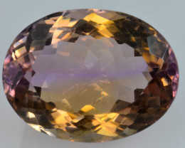 12.22 CT BOLIVIAN AMETRINE TOP CLASS LUSTER GEMSTONE AT9