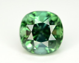 Top Color 2.05 Ct Bluish Green Tourmaline Form Afghanistan. ARA1