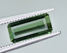 1.38 Crt Natural Tourmaline Faceted Gemstone.( AG 90)