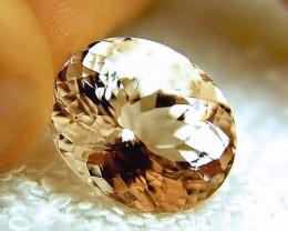 CERTIFIED - 19.89 Carat IF Pink Emerald Morganite - Gorgeous