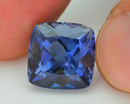 VVS~8.65 ct Maxixe Blue Beryl Brazil