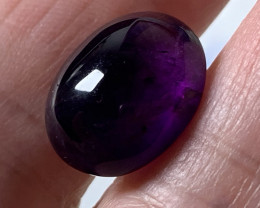 11.07ct Grape Purple Amethyst Cabochon No Reserve