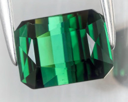 AN EMERALD GREEN HIGH QUALITY JEWELLERY GRADE GREEN TOURMALINE