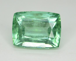 Amazing Color 5 Ct Natural Emerald From Afghanistan