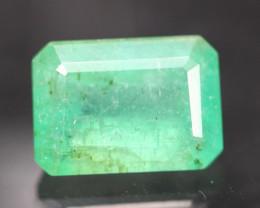 Emerald 2.51Ct Natural Green Zambian Emerald A0601