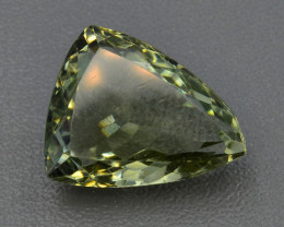 10.58 CT PRASOILITE TOP CLASS CUT GEMSTONE PR9