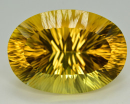 Laser Cut 77.35 Ct Gorgeous Color Natural Citrine