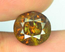 Ultra Rare 5.05 ct Amazing Color Topazolite