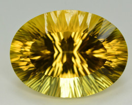 Laser Cut 66.40 Ct Gorgeous Color Natural Citrine