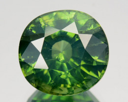 4.82 Cts Natural Sparkling Green Zircon Round Mixed Cut Srilanka