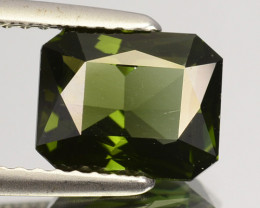 2.44 Cts Natural Sparkling Green Zircon Octagon Cut Srilanka