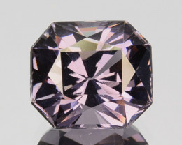 2.63 Cts Natural Purple Blue Spinel Octagon Burma