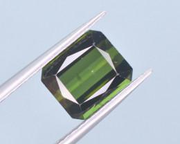 Top Color 2.45 ct Fancy Cut Natural Green Color Tourmaline ~ A G
