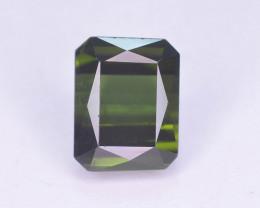 Top Color 2.50 ct  Natural Fancy Cut Green Color Tourmaline ~ A G