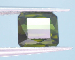 Top Color 1.75 ct Natural Green Color Tourmaline ~ A G