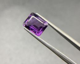 3.32 Ct Amethyst Loose Gemstone - Natural Gemstone - Octagon Shape - Violet