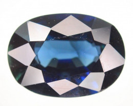 1.39 ct Natural Unheated Blue Sapphire
