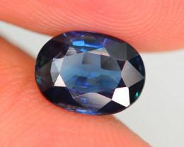 1.41 ct Unheated Blue Sapphire~$1600.00