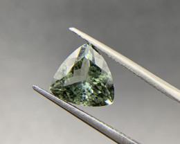 3.27 ct Tourmaline Loose Gemstone - Natural Gemstone - Triangle Shape