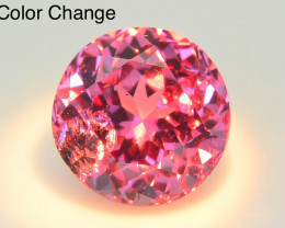 Rare~2.75 ct Color Change Malaya Garnet