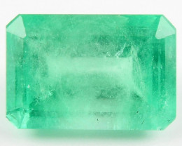 4.84ct Natural Colombian Emerald Loose Gemstone No Reserve Auction