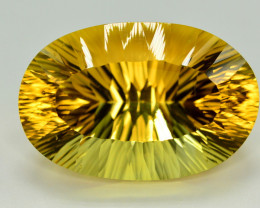 Laser Cut 71.80 Ct Gorgeous Color Natural Citrine