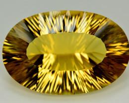 Laser Cut 51.40 Ct Gorgeous Color Natural Citrine