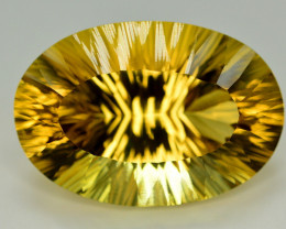 Laser Cut 62.90 Ct Gorgeous Color Natural Citrine