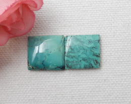 16cts Square Turquoise ,Handmade Gemstone ,Turquoise Cabochons ,Lucky Stone