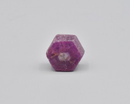 Natural Ruby Crystal with Amazing Zoning 53.12 Cts from Madagascar