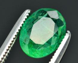 1.35 Ct Brilliant Color Natural Zambian Emerald